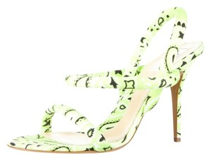 Moschino lime green Sandals