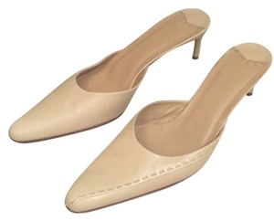 Ralph Lauren Black Label Nude Mules