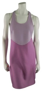 Marc Jacobs short dress Lavender Racerback Modern Geometric Cutouts on Tradesy