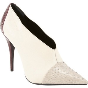 Narciso Rodriguez Snakeskin Leather Red Cream cream/ecru/red Boots