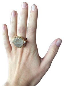 Kelly Wearstler Crystal and Gold Kelly Wearstler Ring