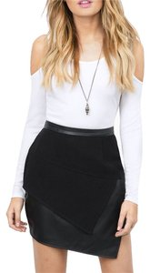 Tobi New In All Angles Mini Skirt Black