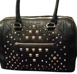 ALDO Black Studded Satchel