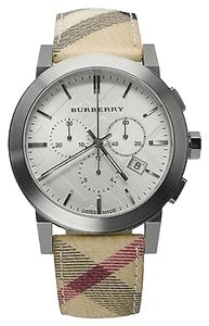 Burberry Haymarket Chronograph Watch