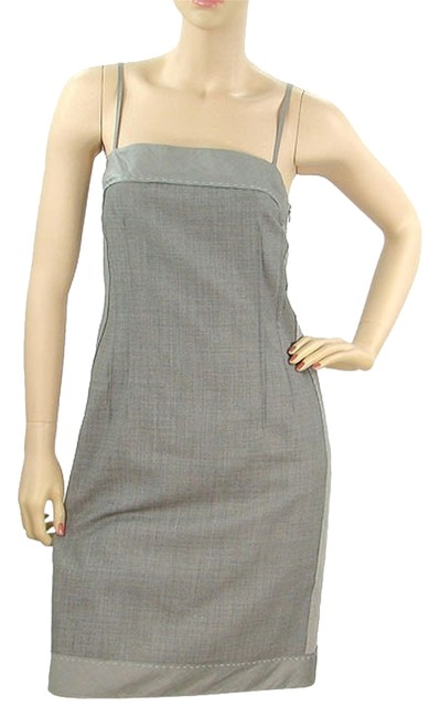 Preload https://item1.tradesy.com/images/moschino-grey-cheap-and-chic-wool-and-silk-above-knee-short-casual-dress-size-2-xs-1072400-0-0.jpg?width=400&height=650