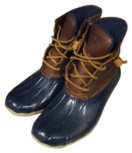 Sperry Blue and brown Boots