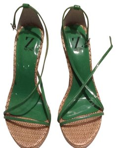 Sergio Zelcer Green Sandals