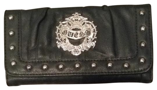 Guess Black Studded Wallet
