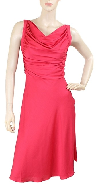 Preload https://item2.tradesy.com/images/moschino-red-cheap-and-chic-hot-pink-silk-party-above-knee-cocktail-dress-size-4-s-1072466-0-0.jpg?width=400&height=650