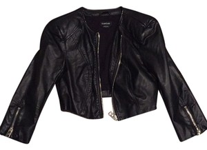 bebe Blac Leather Jacket