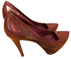 ALDO Patent Leather Purple Pumps