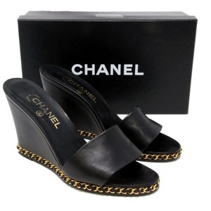 Chanel Espadrille Flats Woc 2.55 Graffiti Black Pumps