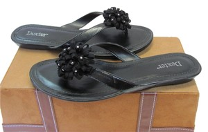Dexter Size 8.50 Very Good Condition Black Sandals