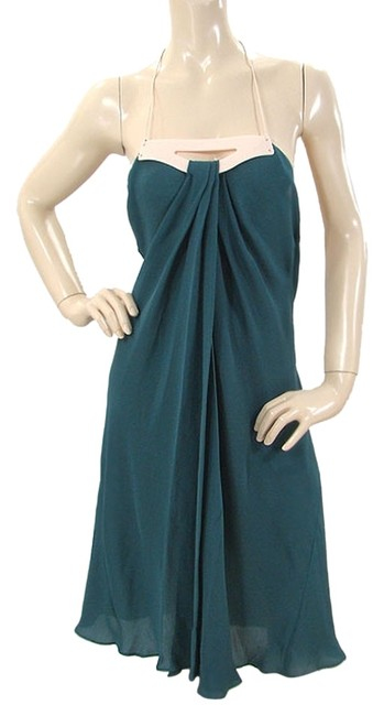 Preload https://item2.tradesy.com/images/narciso-rodriguez-green-blue-pink-teal-silk-with-resin-detail-high-low-short-casual-dress-size-6-s-1072571-0-0.jpg?width=400&height=650