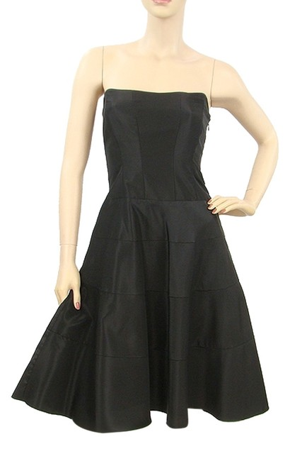 Preload https://item2.tradesy.com/images/nicole-miller-black-collection-strapless-lace-up-knee-length-night-out-dress-size-2-xs-1072596-0-0.jpg?width=400&height=650