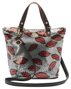 Juicy Couture Lips Sporty Convertible Mini Purse Tote