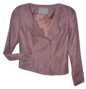 Classique Cropped Wine Light Wine/Plum Jacket