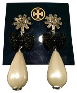 Tory Burch Crystal Stone Statement Earring