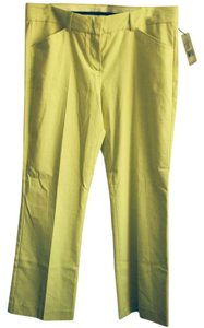 Theory Capris Yellow