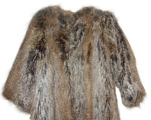 Via Spiga Chic Fur Coat