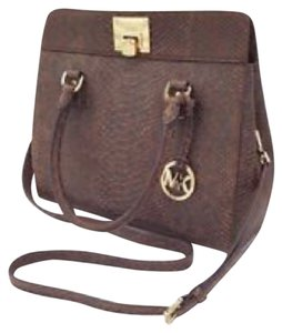Michael Kors Astrid Satchel in Mocha
