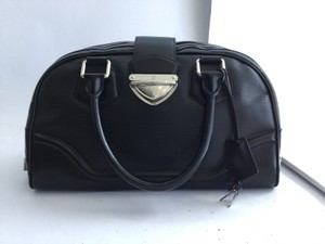 Louis Vuitton Bowling Montaigne Epi Tote in Black