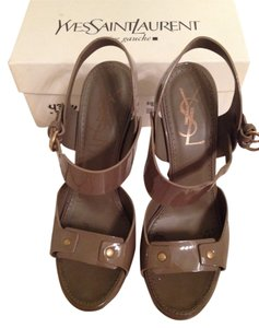 Saint Laurent Taupe Sandals