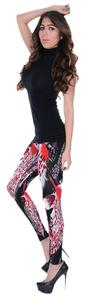 Betsey Johnson Printed Fashion Leggings