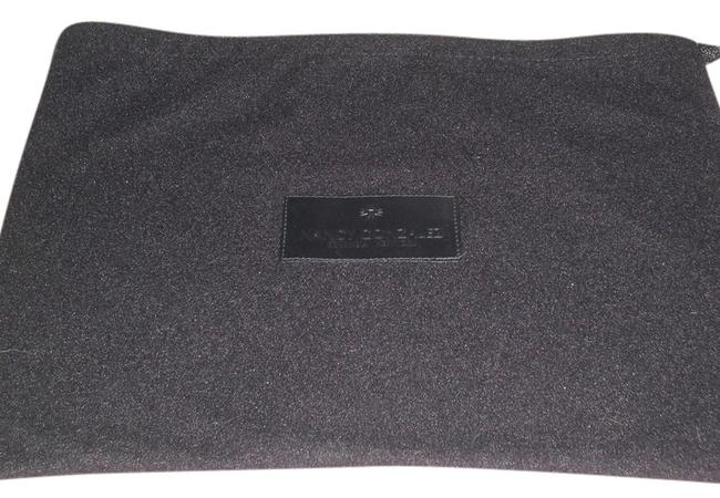Item - Sleeper/ Dust Size: 14 Inch 10 Inch Length Material: Fleece Is Black Flannel with Black :ogo Cotton Weekend/Travel Bag
