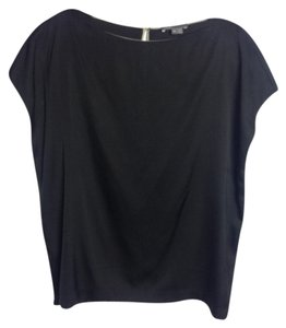 Vince Silk Date Night Top Black