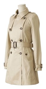 Rosepepper Double Breasted Trench Raincoat Jacket Trench Coat