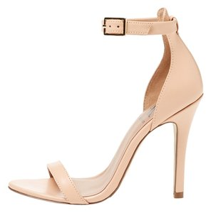 Ava & Aiden Ankle Strap Light Peach Pumps