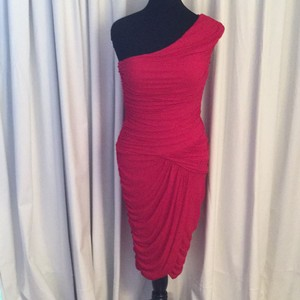 Ruched Draped Dress