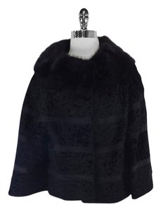 Georges Kaplan Black Mink Short Coat