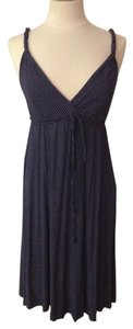 Blue Maxi Dress by Gap Polka Dot
