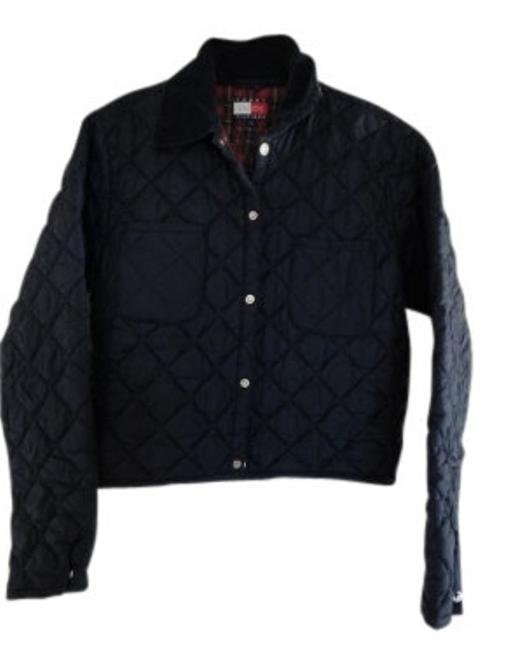 Preload https://item4.tradesy.com/images/tommy-hilfiger-navy-quilted-nylon-miltary-jacket-size-12-l-10733-0-0.jpg?width=400&height=650