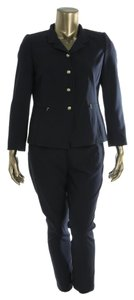 Tahari Tahari ASL Navy 2 PC Pant Suit