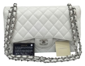 Chanel Caviar Jumbo Double Flap Shoulder Bag