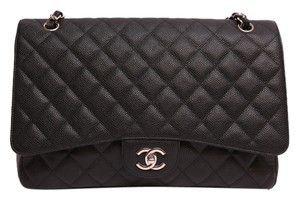 Chanel Caviar Maxi Maxi Classic Maxi Classic Maxi Single Flap Mediu Small Boy Shoulder Bag