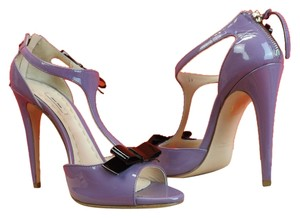 Miu Miu Light Purple/Black Pumps