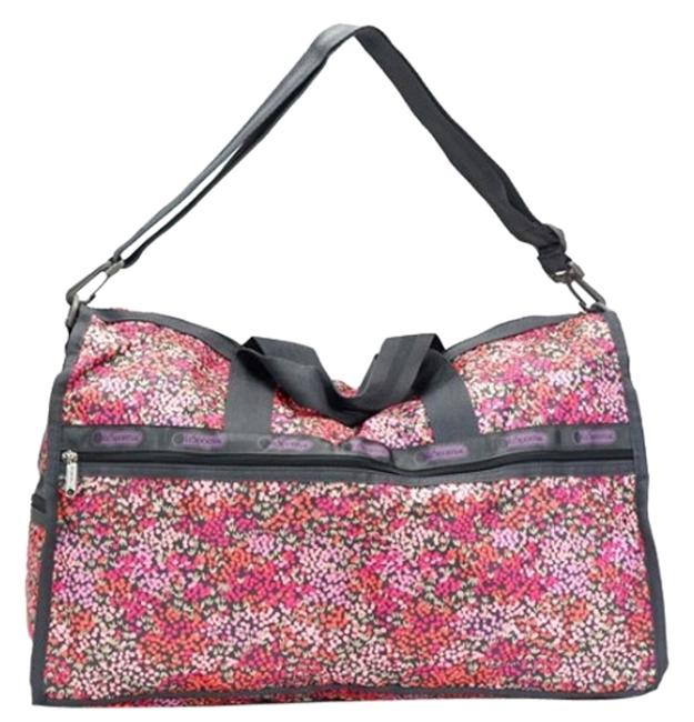 Item - Boston Large - Lavender Fields (No Pouch Multi Colors Polyester Weekend/Travel Bag