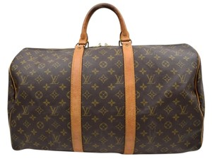 Louis Vuitton Keepall Boston Luggage Travel Bag