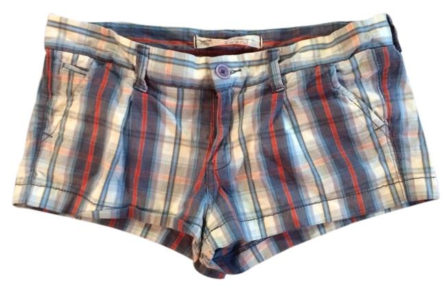 Item - Blue White and Red Plaid Preppy Summer Casual Comfortable Shorts Size 8 (M, 29, 30)