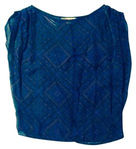 Forever 21 Top Blue/Fuchsia