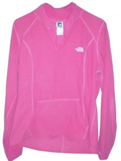 Preload https://item2.tradesy.com/images/the-north-face-pink-pullvover-sweatshirthoodie-size-14-l-10736-0-0.jpg?width=400&height=650