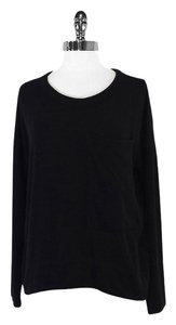 Rag & Bone Black With Bust Pocket Sweater