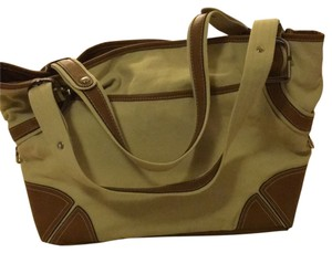 Etienne Aigner Tote in Camel & Brown