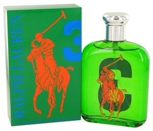 Ralph Lauren Ralph Lauren BIG PONY GREEN #3 Mens Cologne 4.2 oz 125 ml Eau De Toilette Spray
