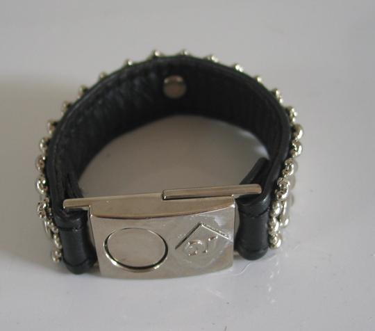 Other Black leather & Steel