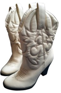 Route 66 cream Boots